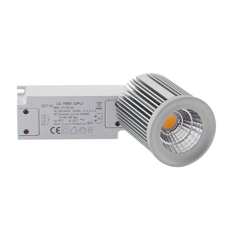 Bombilla LED COB SHARP 9W High Power, Blanco cálido